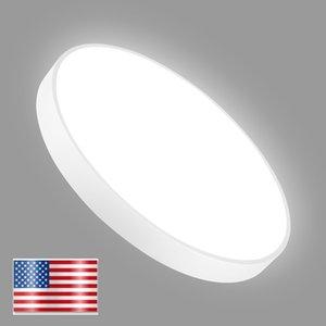 Soffitto del LED principali moderne plafone USA Magazzino spedizione gratuita bagno camera da letto Disco UFO luce di soffitto telecomando regolabile