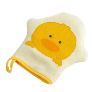 2019 NEW 3 Colors Cartoon Super Soft Cotton Bath Shower Brush Animal Modeling Sponge Rubbing Towel Ball for Baby Children
