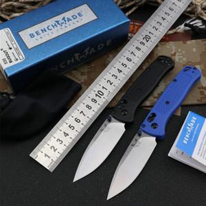 BenchMade BM535 Нож выживания на открытом воздухе S30V атласная равнина полимерной ручкой Ось Axis 58-60HRC Доставка Бесплатная