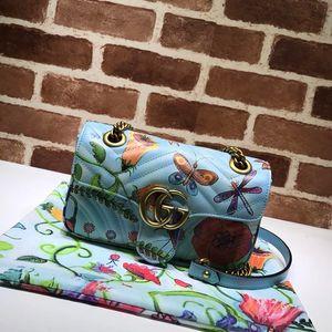Mulheres reutilizáveis bolsas Saco Novo Padrão Portátil Pequeno Pacote Quadrado Mensageiro Cadeia Pacote Cruzeiro bolsas crossbody 23 * 14 * 6 cm 0006
