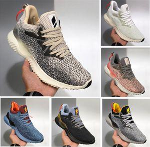 2020 alta calidad AlphaBounce beyonds mármoles Shark Hombres Mujeres Zapatos Negro Blanco Caqui Alfa rebote Mens zapatos deportivos entrenador 36-45 Running