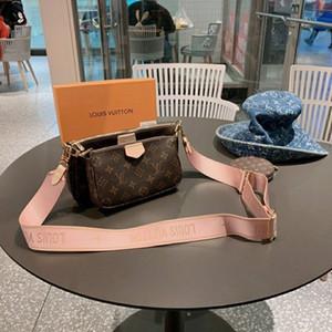Sıcak satış yeni stil Satış 3 parçalı set tasarımcıları çanta kadınlar crossbody torba Gerçek Deri lüks çanta cüzdan tasarımcıları bayan çantası