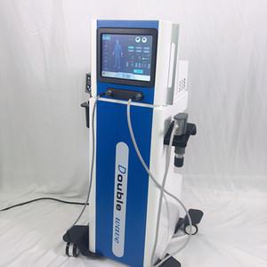Заводская Двойные волны Shockwave Therapy оборудование с двумя ручками для тела боли Целлюлит Ану ED Лечения