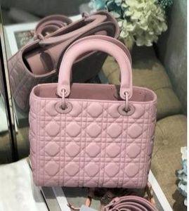 2019 Designer-Handtasche Damenmode Damen-Umhängetasche Tasche dhm1998 mattiert rosa The New