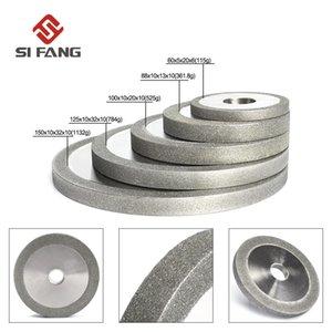 3/4/5/6 pulgadas electrochapada Flat Diamond Grinding Wheel para Metal Milling disco de diamante Accesorios de afilado 100/150 / 180 #