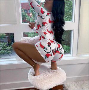 Women Bodysuit Long Sleeve Deep V Neck Bodycon Stretch Leotard Crop Button Short Romper Pajamas Maternity pants Jumpsuit