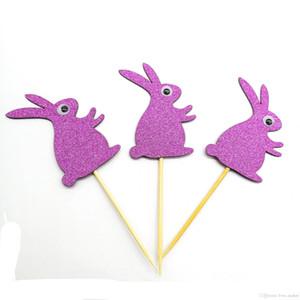 6 Stiller Paskalya Çekme Bayraklar Tavşan Çekme Çiçek Bunting Kart Dekorasyon Parti Akıllı Gözler Bunny Tatil Parti Düzeni Paskalya Süslemeleri AN3130