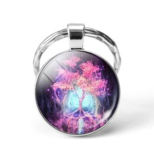Tree of life Aromatherapy Essential Oil Diffuser Necklace openable Locket Chains Glow in the Dark Necklace Fashion Jewlery Drop Shipping