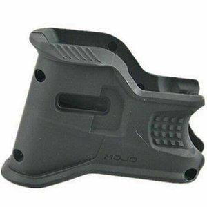 AR15 Тактический зажим Зажим для маски, улучшенный MWG Magwell Grip и 4 пальца с канавками для пальцев, черный