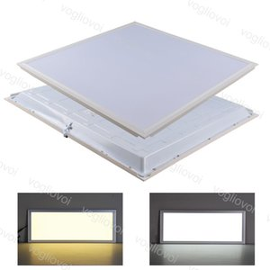 LED Panel Light 20W 32W 35W 48W 300X300 300X600 600X600mm SMD2835 220V Surface Emitting Aluminium Recessed For Office Hospital DHL