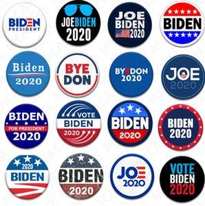 18 Styles Joe Biden Brooch 2020 US Presidential Election Biden Badge Tinplate Election Badges BIDEN Vote Brooch Pin Party Favors Gifts D7204