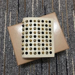couro nova moda curto quadrados rebite homens carteira e hasp das mulheres intercalar clipe de dinheiro certificado clipe simples moda bolsa de cartão ocasional