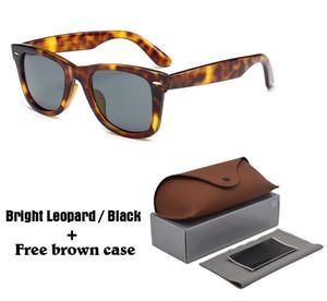 1 pcs atacado designer de marca óculos de sol das mulheres dos homens de alta qualidade óculos de sol uv400 eyewear óculos unisex com brown casos e caixa