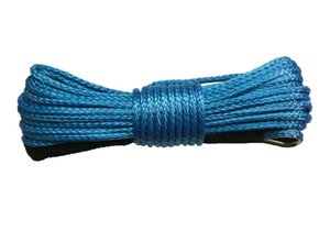 10 mm x 20m azul Synthetic UHMWPE Molinete de Cabo Rope