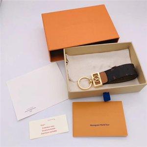 NEW Keychain Key Chain & Key Ring Holder Brand key chain Porte Clef Gift Men Women Souvenirs Car Bag with box