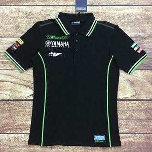 2016 جديد للدراجات النارية سباق موتوكروس موتو gp ركوب ملابس الرجال ملابس قصيرة الأكمام الملابس القيادة ياماها m1 تي شيرت