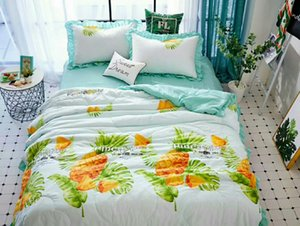 Thickened flannel 4pcs bedding set luxury king size comforter set bed sets coral Plush duvet cover bed sheet warm winter