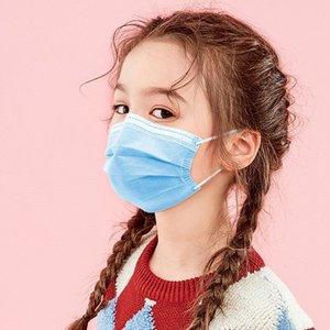 masques adultes de masque à usage unique enfant masques de tissus de non-tissé anti-poussière ainsi que des masques en tissu de fusion-soufflage avec un sac de protection ménage