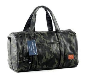 Factory outlet marke herren tasche Camo hohe kapazität tragbare satchel freizeit reisetasche Korean fashion camouflage leder handtasche