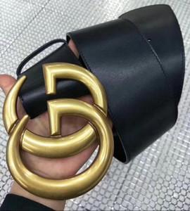 7 cm cinturón grande moda gbrand cinturones para las mujeres hebilla de castidad masculina cinturones de moda superior para hombre cinturón de cuero al por mayor
