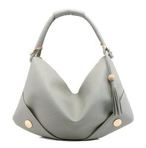 New PU Pitot Bag Stylish Shoulder Handbag Women Large Capacity Hobos bags Fashion PH-CFY20062051