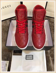 2019 Marque Hommes Chaussures De Luxe Luxe Homme Meilleur Le Créateur Original Récupération Parfaite Chaussures Décontractées Chaussures Authentiques Chaussures Haut pour hommes s