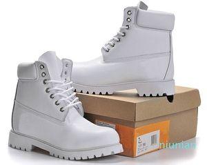 Sıcak satış-Boot Çiftler Deri Yüksek Kesim Sıcak Kar Bot Casual Martin Boots Yürüyüş Spor Eğitmeni Ayakkabı Sneakers