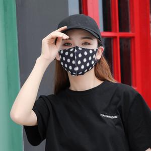 Mode Erwachsene Gesichtsmasken Mascherine Erdbeere Blume Getränke Druck Staubmundmaske Anti UV-Schutz-Respirator Sommer Frühling 1 95js E1