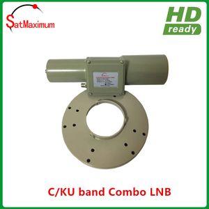 Free shipping C+Ku Dual Band LNB for C-Band and Ku-Band Reception