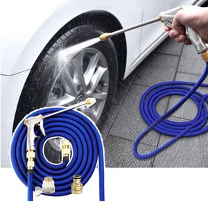 Wearable Garden Watering Hose 3 Times Expandable High Pressure Wash Water Hose Y4UA