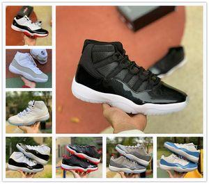 Продажа мода высокое качество 11s PRM наследница черный тренажерный зал Красный Чикаго полночь Военно-Морской Флот космические пробки мужская баскетбольная обувь спортивные кроссовки US5. 5-13
