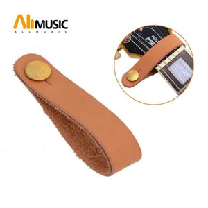 1000pcs Colourful leather Guitar Neck Straps Black Brown four color starp provice guitar parts guitar accessories