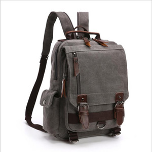Canvas Women Men Backpack Style Travel luggage Bag Single strap Two Strap Waist bag