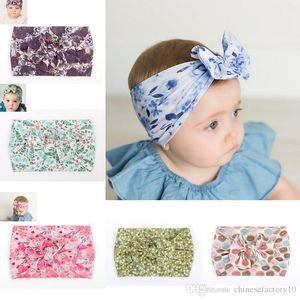 Девочка Лук ободки фрукты Unicorn Аксессуары для волос Тюрбан Boutique Head Hair Bands Ins Нейлон Новый 11 цветов