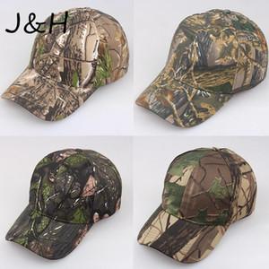 New Browning Camo Baseball-Kappen-Fischen Caps Men Outdoor Jagd Camouflage Jungle Hat Wandern Casquette Hats