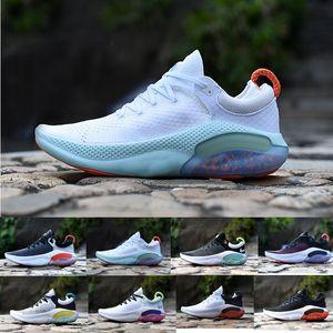 Ucuz Joyride Run ODYSSEY RECT SHIELD Erkekler Üçlü Siyah Beyaz Platin Ton Üniversitesi Kırmızı Açık Nefes Atletik Ayakkabı Koşu