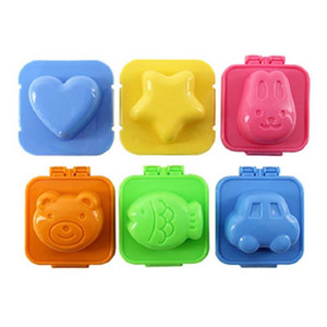 Boiled Egg Sushi Rice Mold Mould Bento Maker Sandwich Cutter Moon Cake Decorating Decoration Kitchen Tools LX1860