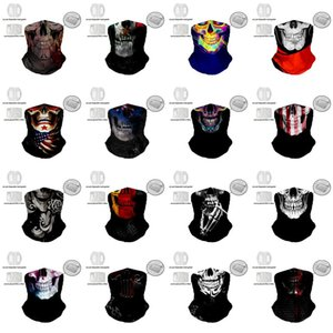DHL shipping Outdoor Cycling Masks Riding Bandanas Scarves Magic Turban Multifunctional Seamless Sunscreen Mask Replaceable filter L183FA