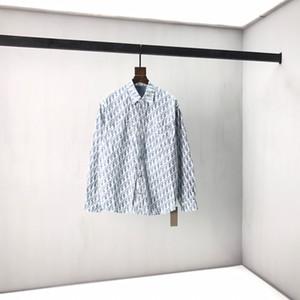 20ss new shirt brand new acid and vinegar fabric soft skin feel vertical st1rong custom original accessories versatile ml XL XXL spot sale36