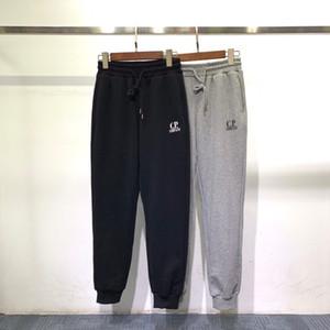 CP мужские брюки 2 цвета 2019 зима Нового прибытия скейтборды Мужчины Хлопок Sweatpants Hip Hop Брюки Азиатского размера