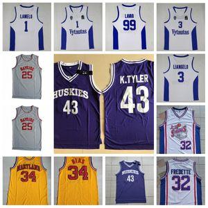 99 LaVar Ball 32 Jimmer Fredette 3 LiAngelo Ball 00 Steve Urkel 34 Len Bias 25 ZACK MORRIS Movie Basketball Jersey in Stock