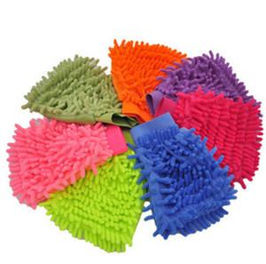 Guanto per la pulizia della casa Panno di pulizia per la casa Guanto per la pulizia della finestra dell'auto in microfibra Super Mitt