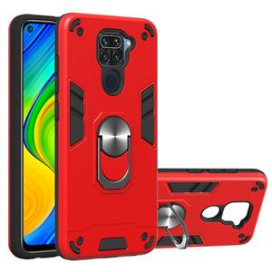 Hibrit Zırh Vaka İçin Xiaomi redmi Not 9 Hard Case Arka İçin Xiaomi 10X 4G Cep Telefonu Kılıfı redmi Note9 Kapak