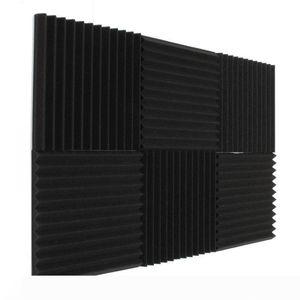 2017 Fireproof mais novo absorção acústica espuma à prova de som estúdio à prova de som Quarto Tratamento 30 * 30 * 3 cm 35PCS