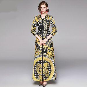 New Summer Dresses For Womens Short Sleeve Bohemian Beach Pleated Dress V-neck Pendulum Flower Casual Dress women Clothing S-XXL2020 Designe