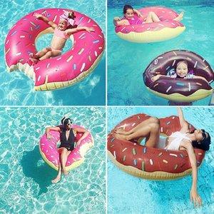 Materasso gonfiabile Donut Nuoto Sport Nuoto Anello Pool gigante galleggiante giocattolo Circle Beach Party acqua di mare per adulti Kid calda Sal