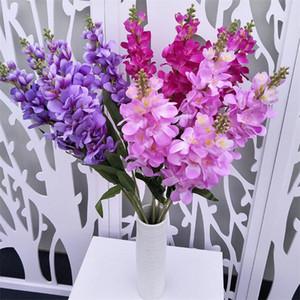 Seta Larkspur Flower Simulation Artificiale Giacinto sette colori per centrotavola da sposa Home Vetrina Decorativa Fiori Artificiali