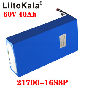 LiitoKala 60V 20ah 35Ah 30Ah 40Ahelectric scooter bateria 60V Electric Bicycle Lithium Battery Scooter 60V 1000W ebike battery