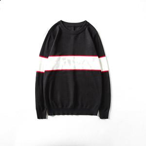 Suéter para hombre Moda Hombres Mujeres Suéter de alta calidad Pullover de manga larga Carta impresa Pareja Suéteres Tamaño M-XXL