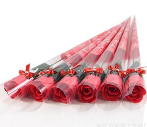 Tek Renkli Kağıt Sabun Çiçek Yaratıcı Simülasyon Gül Sabunu Çiçek Sevgililer Günü